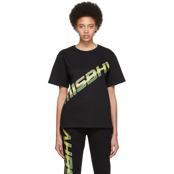 MISBHV | MISBHV Black Space Logo T-Shirt | Goxip