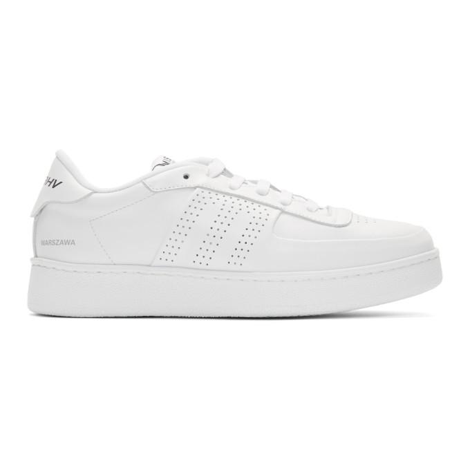 MISBHV | MISBHV White Warszawa Sneakers | Goxip