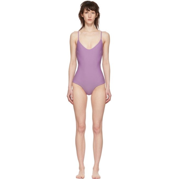 Matteau Maillot de bain une piece mauve The Scoop