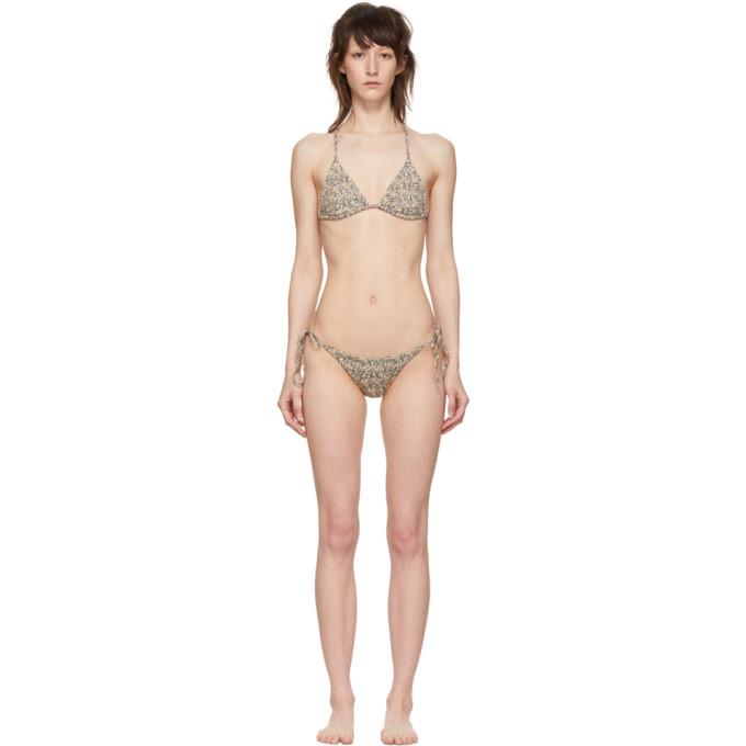 MATTEAU | Matteau Yellow String Bikini | Goxip