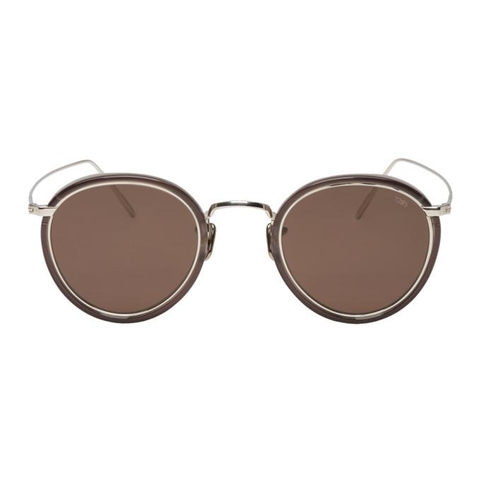 EYEVAN 7285 Eyevan 7285 Silver And Black 717E Sunglasses in C1031 Bkslv