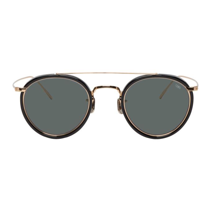 EYEVAN 7285 Eyevan 7285 Black 762 Sunglasses in C1002 Bkgld