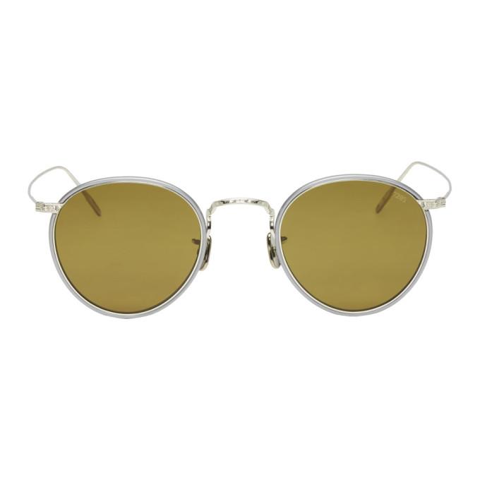 EYEVAN 7285 Eyevan 7285 Silver 717W Sunglasses in C1250 Clr