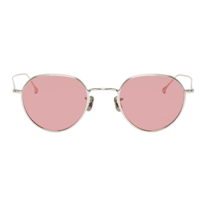 EYEVAN 7285 Eyevan 7285 Pink 765 Sunglasses in C800 Slvbrn