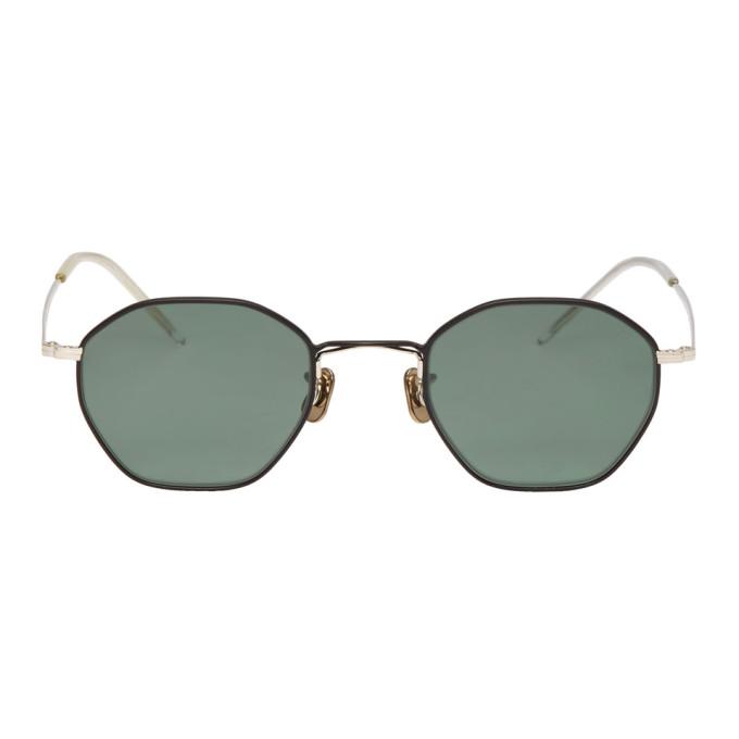 EYEVAN 7285 Eyevan 7285 Silver And Black 772 Sunglasses in C8124 Black