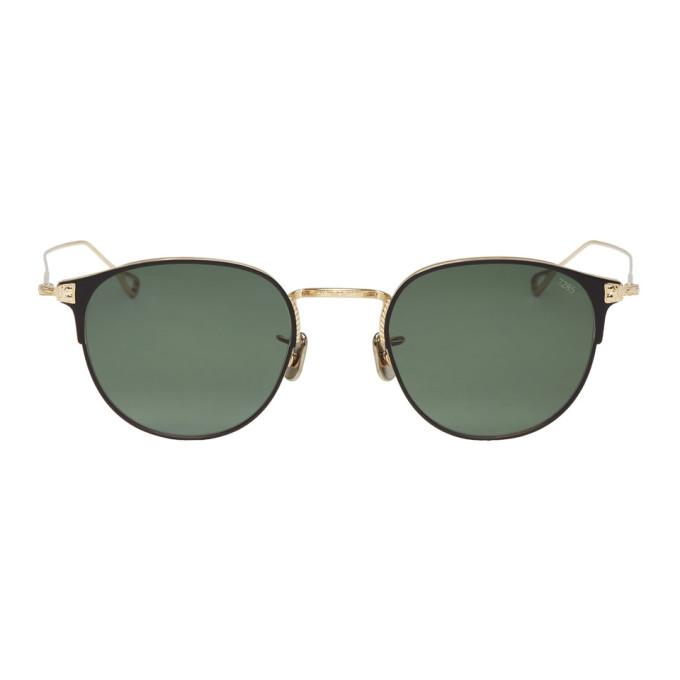 EYEVAN 7285 Eyevan 7285 Gold 75149 Sunglasses in C9023 Black