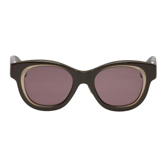 EYEVAN 7285 Eyevan 7285 Black 778 Sunglasses in C411 Bkgrey