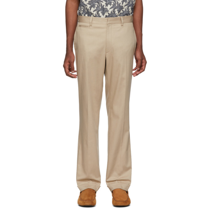 Image of Brioni Beige Chino Trousers