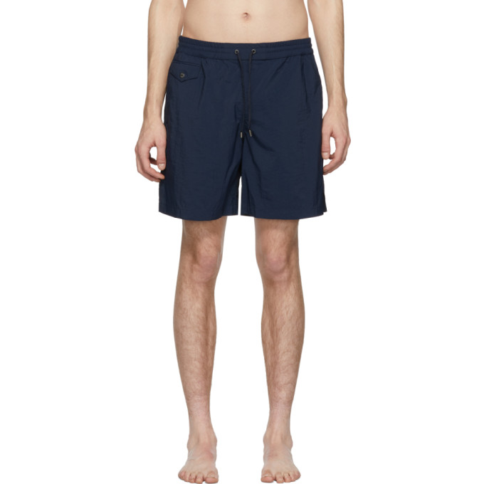 Image of Brioni Blue 17 Swim Shorts