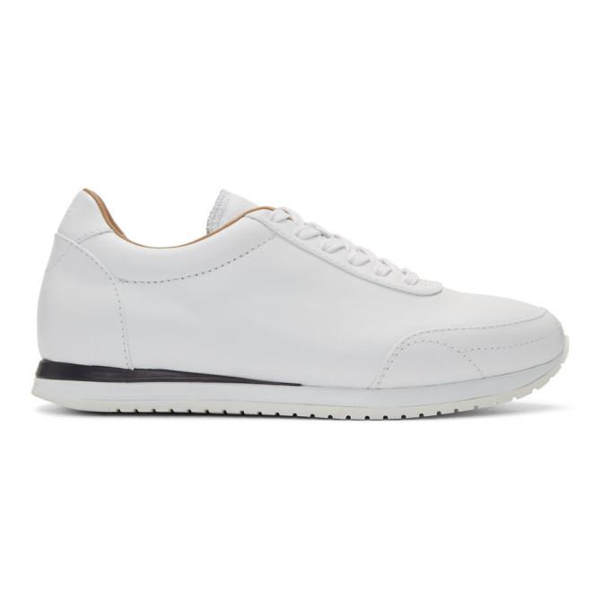 Brioni White Montato Sneakers