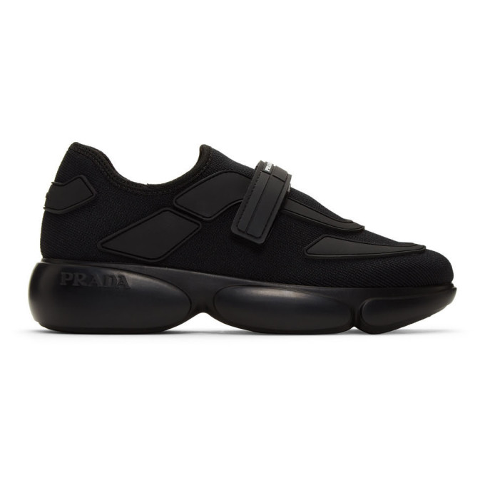 Prada Black Cloudbust Sneakers