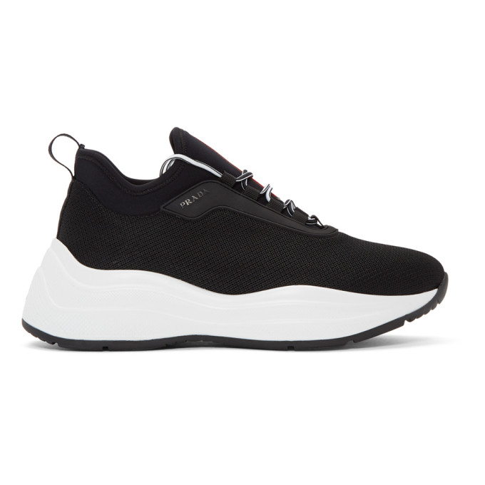 Prada Black Chunky Sneakers