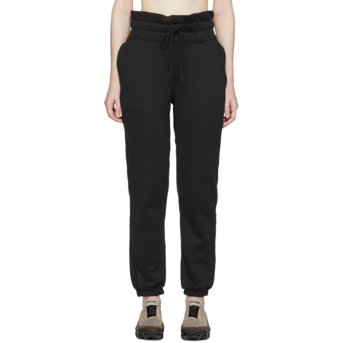 Image of NikeLab Black NRG FLC Lounge Pants