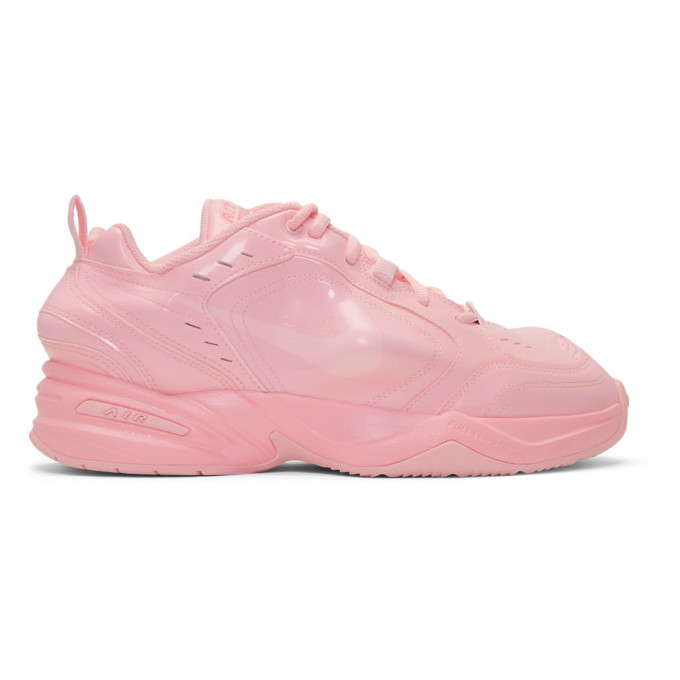 NikeLab Pink Martine Rose Edition Air Monarch IV Sneakers
