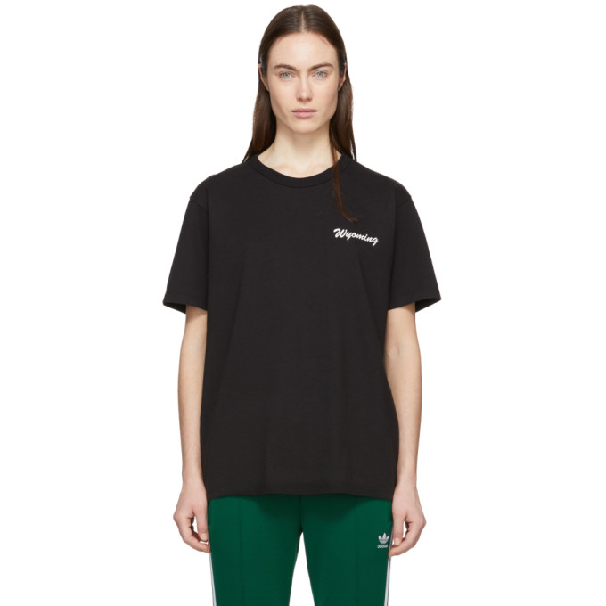 Image of Bianca Chandon Black Wyoming T-Shirt