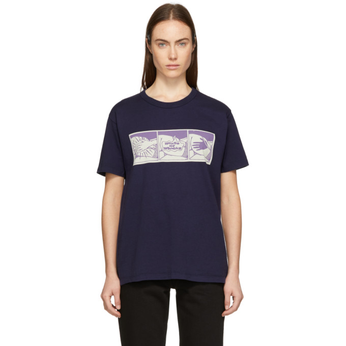 Image of Bianca Chandon Navy House Of Whacks T-Shirt