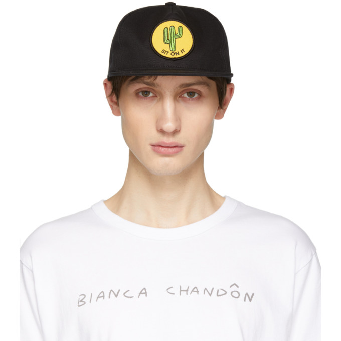 Image of Bianca Chandon Black Sit on It Cap