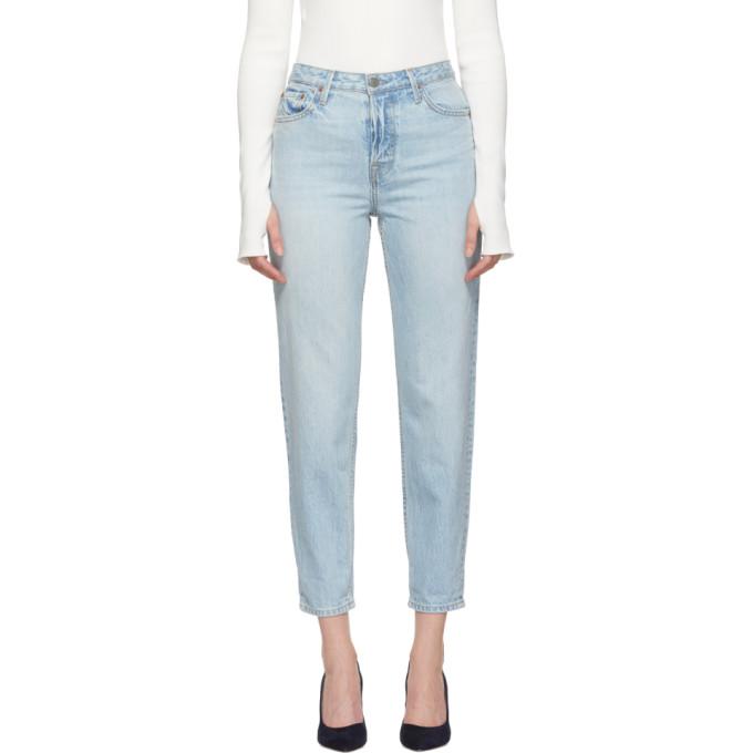 BUY Grlfrnd Blue Devon Jeans  613b8d4a4d767