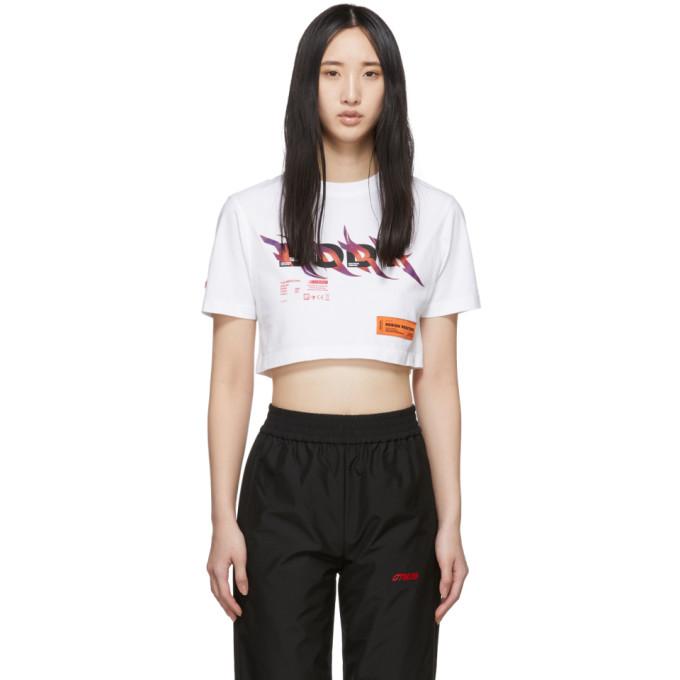 Heron Preston T-shirt ecourte blanc Body