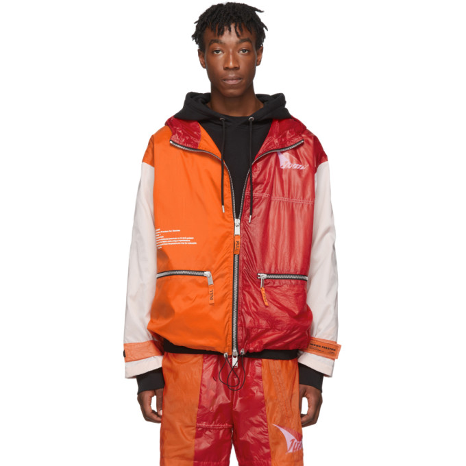 Heron Preston SSENSE Exclusive Multicolor JUMP Jacket