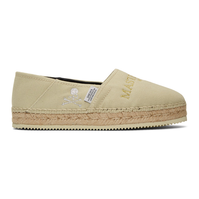 mastermind WORLD Espadrilles beiges JASS-MM-WILD edition Suicoke