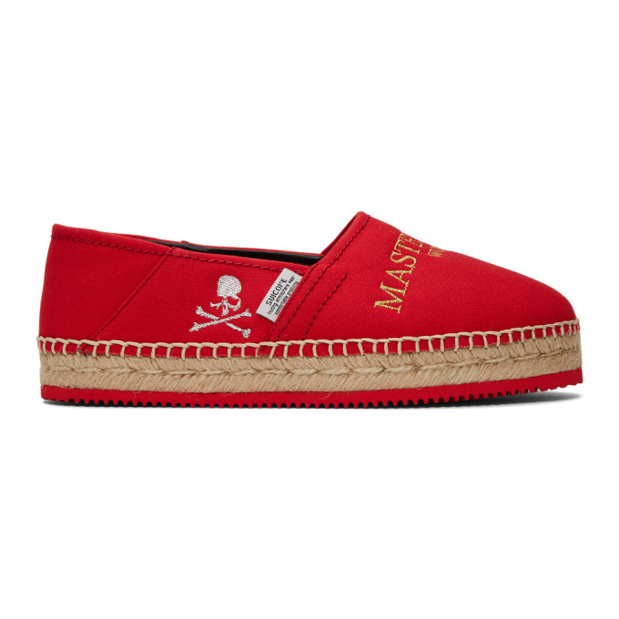 mastermind WORLD Espadrilles rouges JASS-MM-WLD edition Suicoke