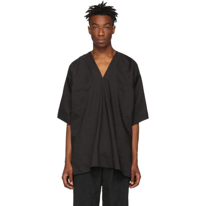 Jan-Jan Van Essche Chemise noire Tunic