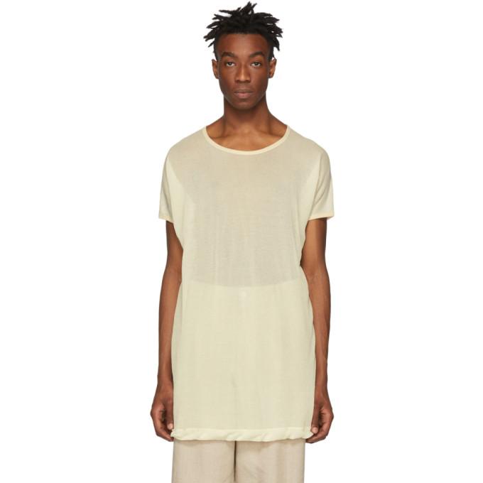 Jan-Jan Van Essche T-shirt en jersey washi beige