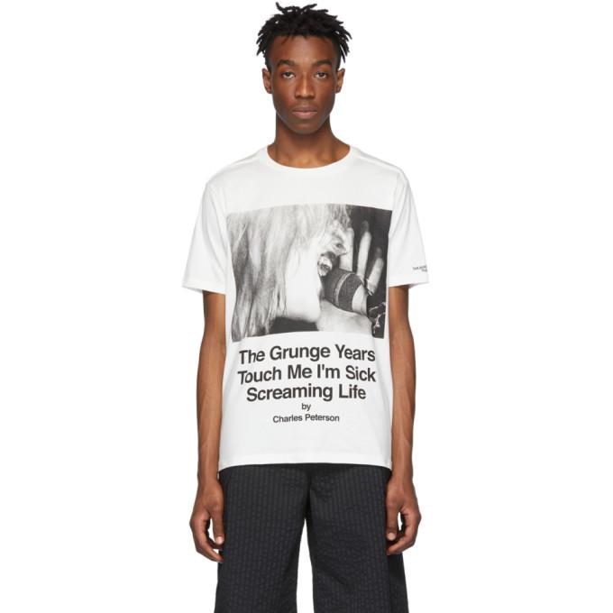TAKAHIROMIYASHITA TheSoloist. T-shirt blanc Courtney edition Charles Peterson
