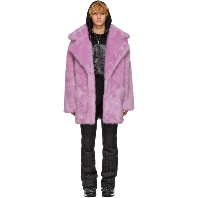 LANDLORD Landlord Purple Faux-Fur Capsule Coat