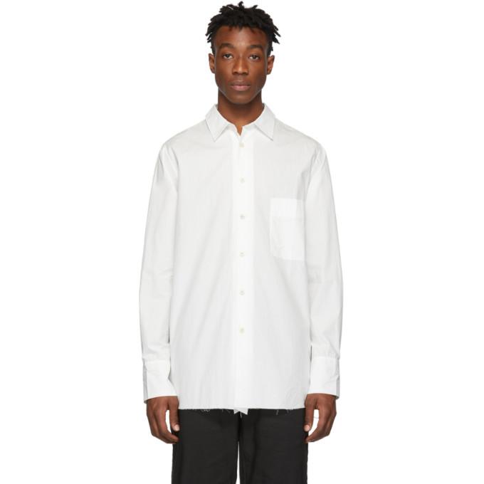 Ziggy Chen Chemise en coton blanche