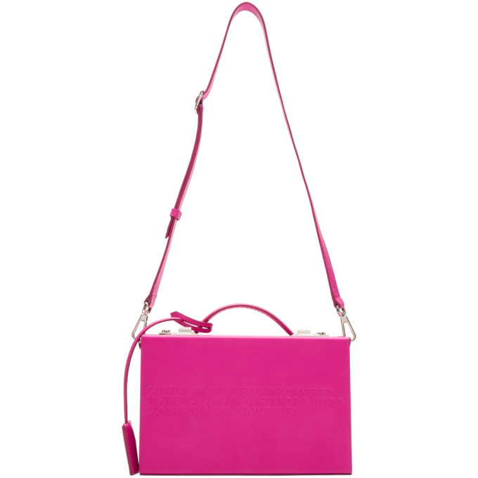 Calvin Klein 205W39NYC Pink 'The Box' Bag