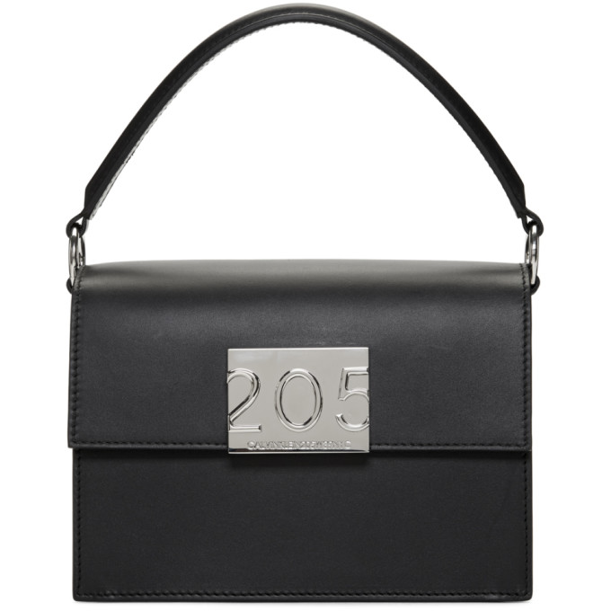 Image of Calvin Klein 205W39NYC Black Small Bonnie Bag