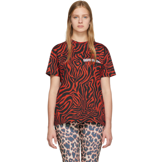 Image of Calvin Klein 205W39NYC Red Zebra T-Shirt
