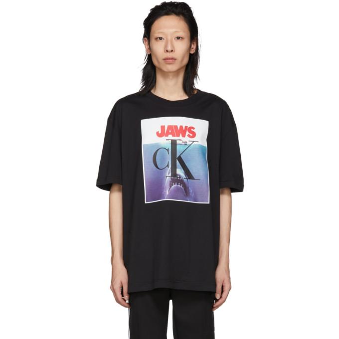 Image of Calvin Klein 205W39NYC Black Jaws T-Shirt