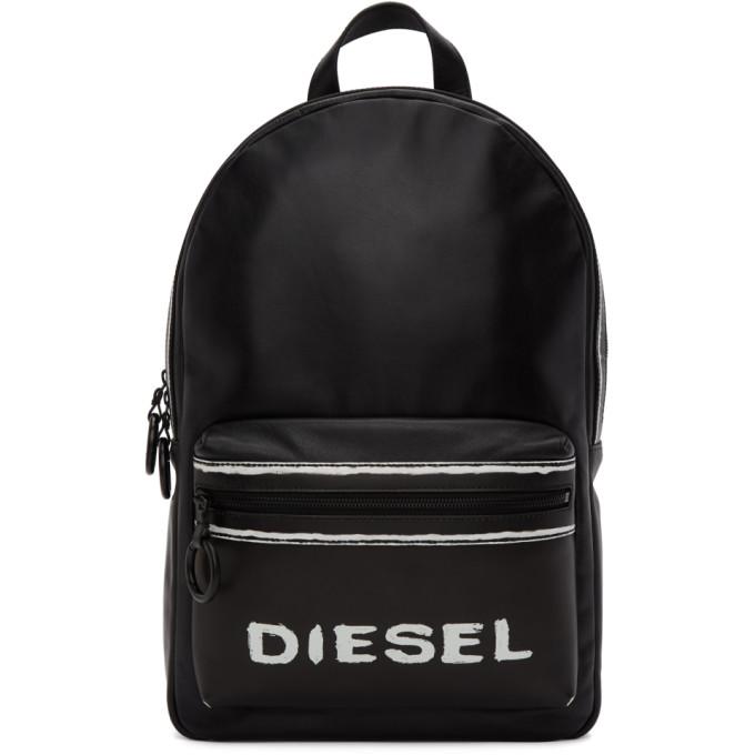Diesel ブラック Asporty Este バックパック