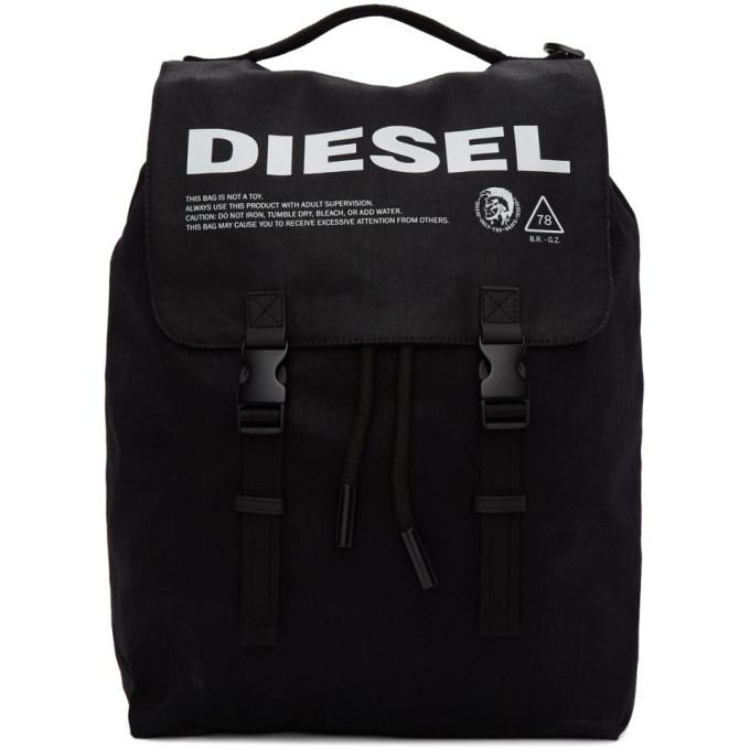 Diesel ブラック Volpago バックパック