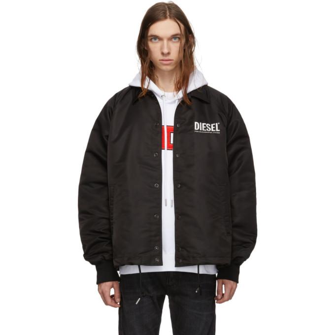 Diesel Black J-Akio-A Jacket