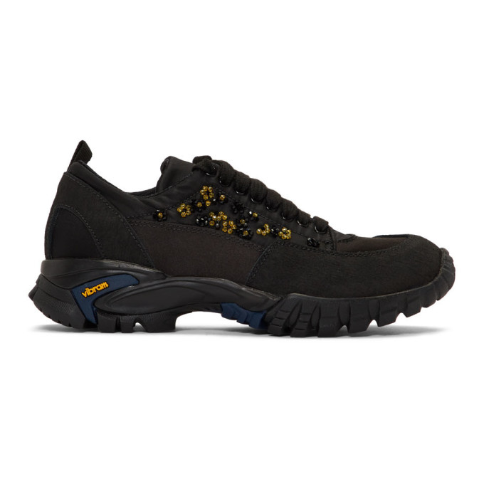 Cecilie Bahnsen Black and Yellow Diemme Edition Ulrikke Sneakers