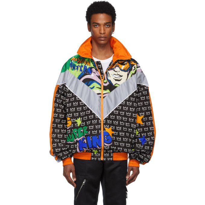 Dolce and Gabbana Dolce and Gabbana Black Superheroes Jacket