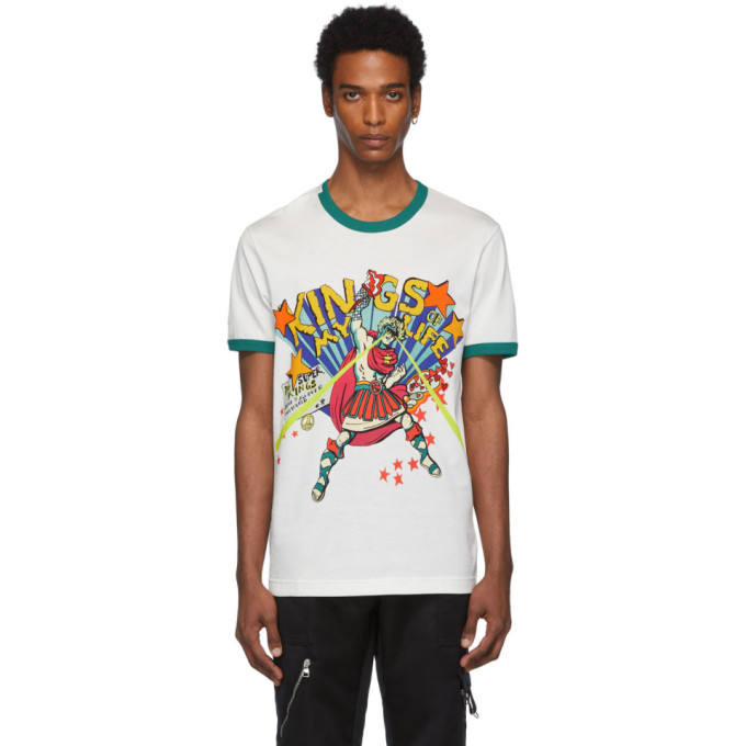 Dolce and Gabbana Off-White Giulio Cesare T-Shirt
