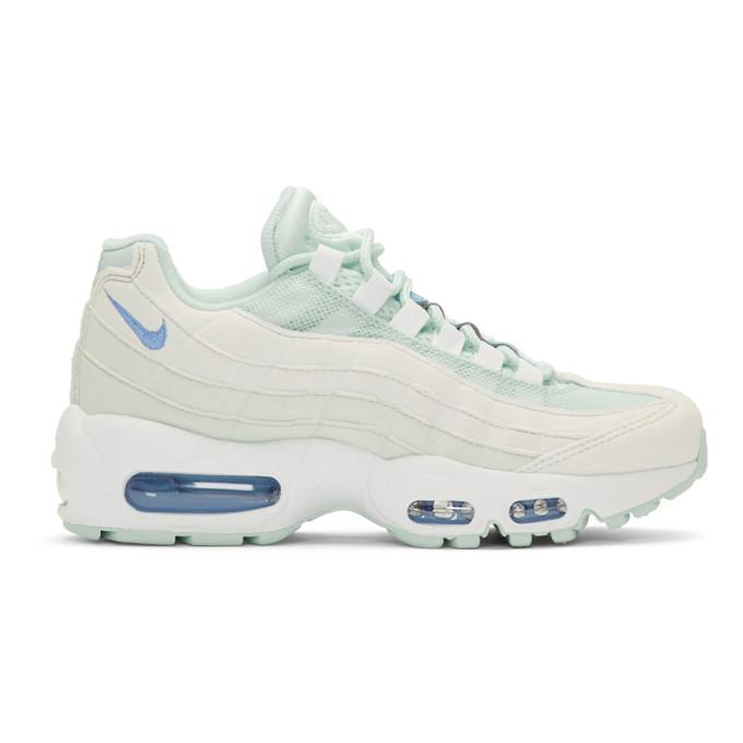 NIKE | Nike Blue Air Max 95 Sneakers | Goxip