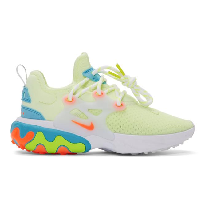 NIKE | Nike Green React Presto Sneakers | Goxip