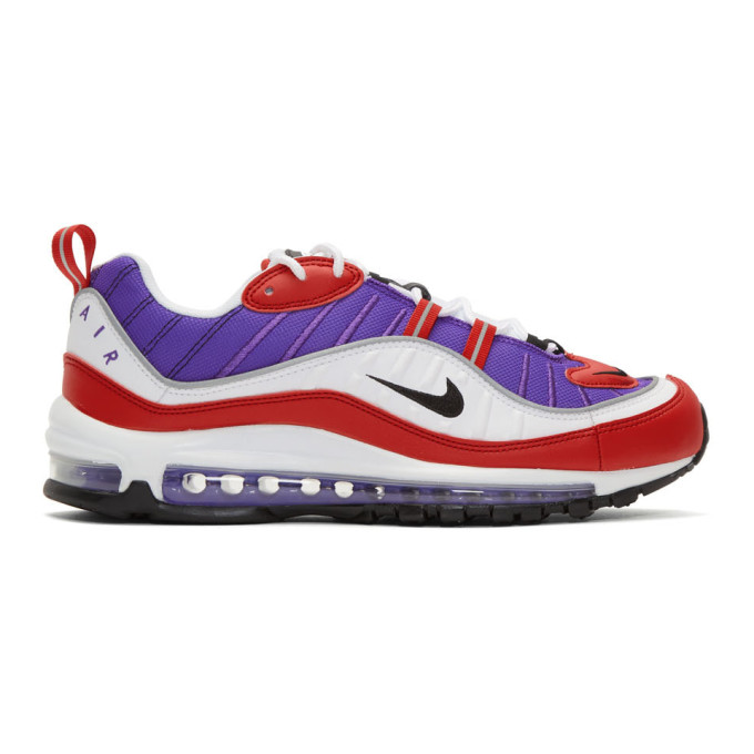 Nike Purple Air Max 98 Sneakers