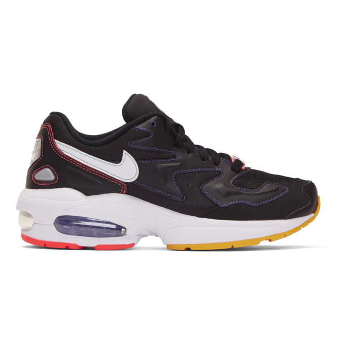 Nike Black Air Max 2 Light Sneakers