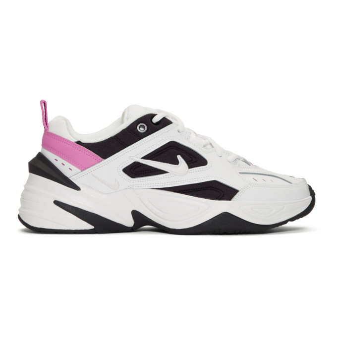 Nike White and Black M2K Tekno Sneakers