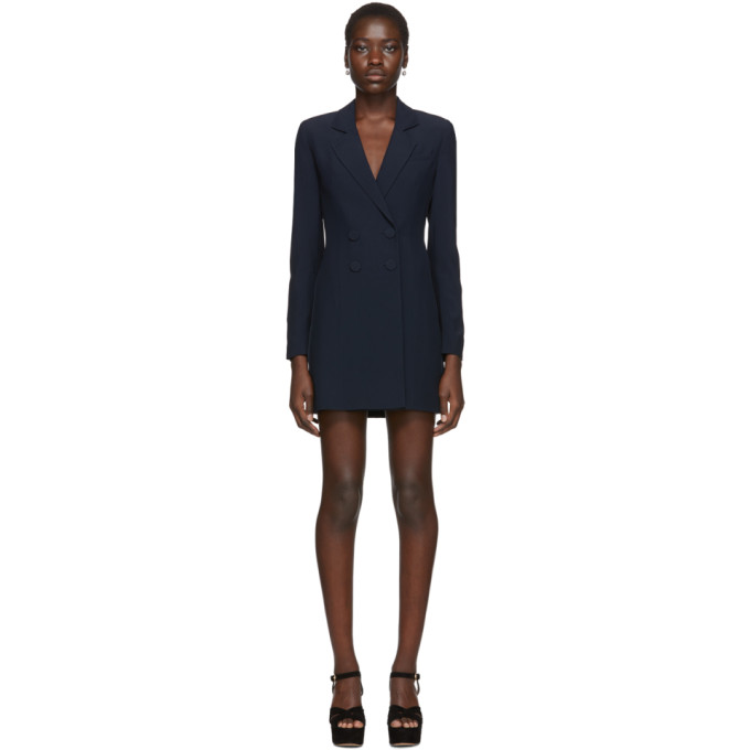 Kiki de Montparnasse Robe bleu marine Tuxedo