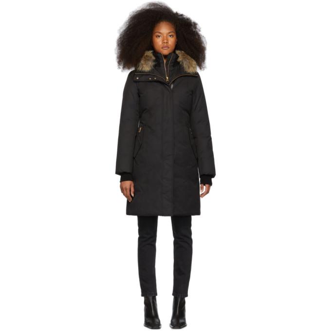 Mackage Manteau en duvet noir Harlowe