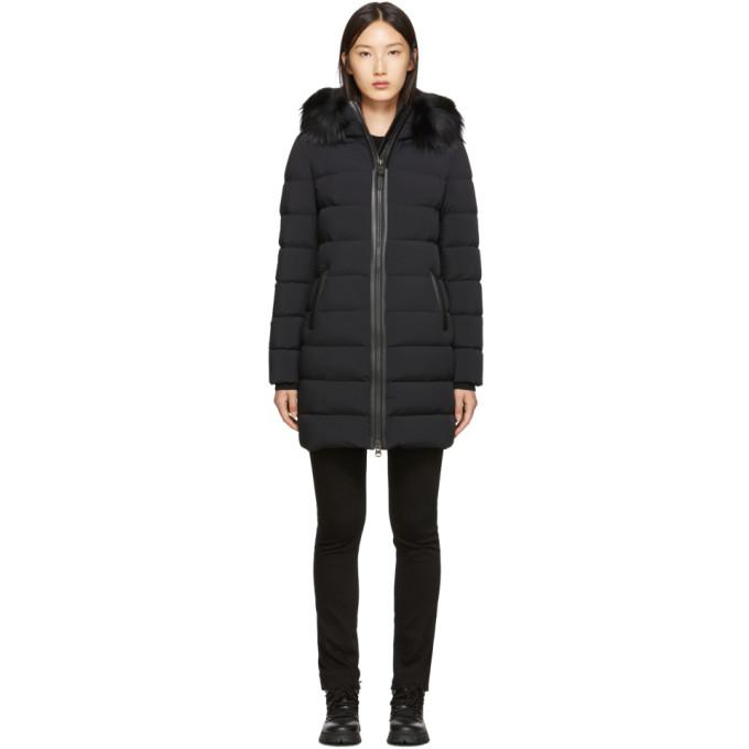 Mackage Manteau en duvet noir Calla