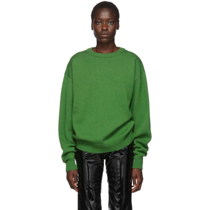 Ottolinger Pull en laine vert Moabit